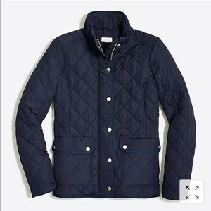 J. Crew QUILTED JACKET  - like new